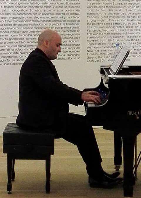 David Martín Gutiérrez (violonchelo), Patxi Aizpiri Múgica (piano)