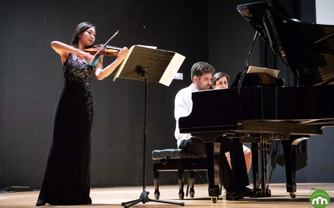 Nancy Zhou (violín) & Damián Hernández (piano)